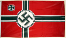 GERMAN WW2 (NAZI) - 8 X 5 FLAG